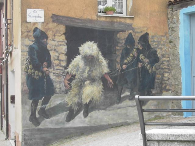 Fonni Wandmalerei